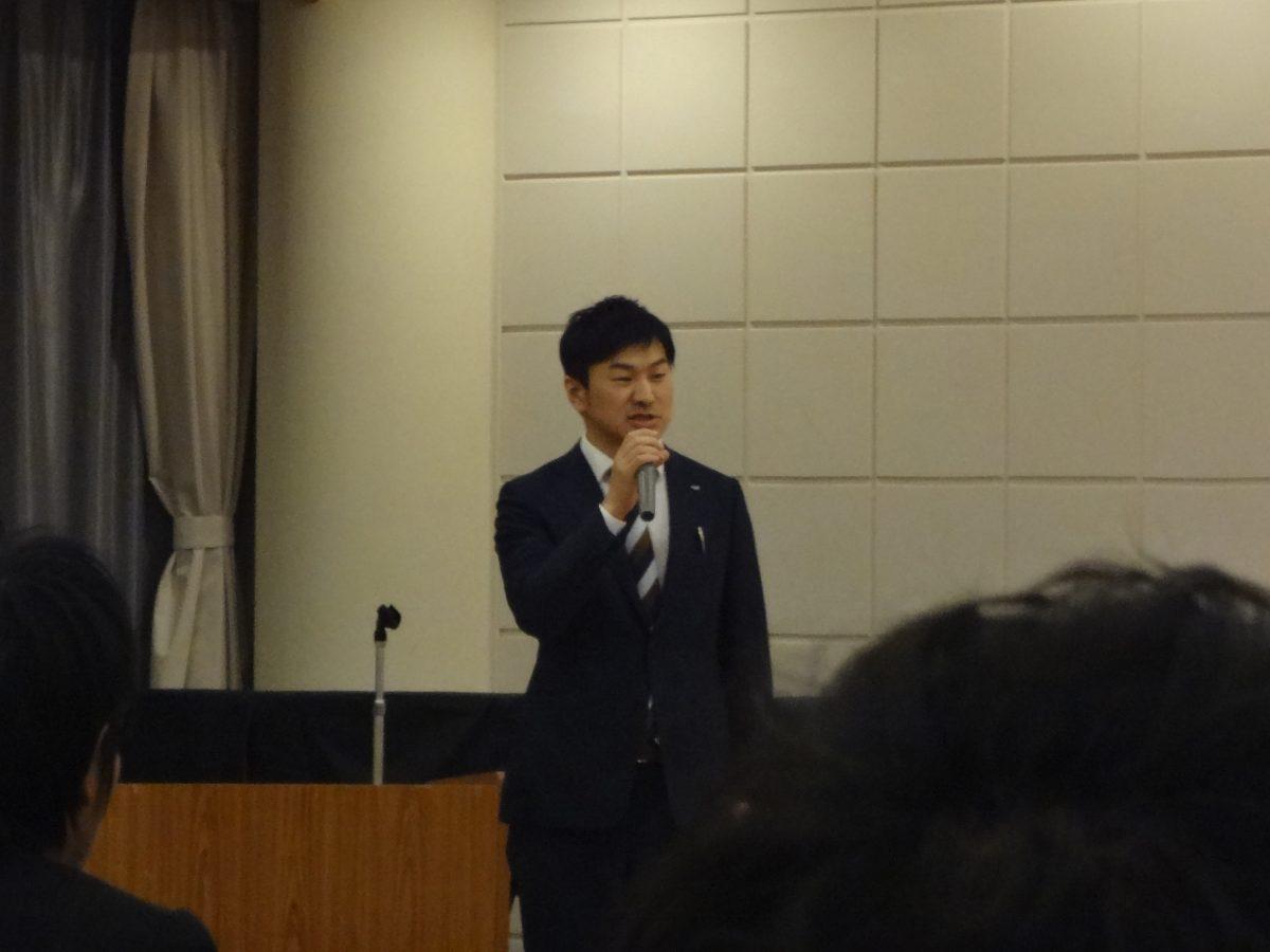 今回のフリータイムの設営を担当した村越総務委員長より、趣旨説明が行われました。