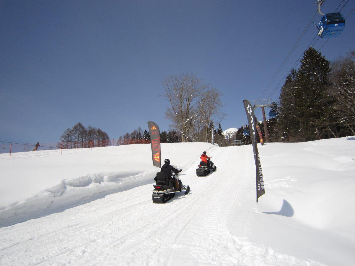 妙高青年会議所のメンバーが子供だった頃、スキー授業や課外活動などでスノーモービルを目にしたこともありました。