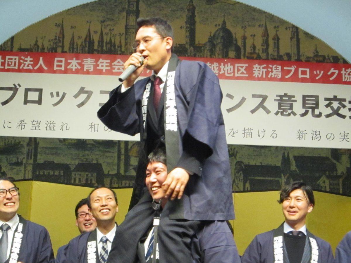 キャラバン活動:第1回 新潟ブロックコンファレンスにて【新潟ブロックゴルフ大会in妙高】