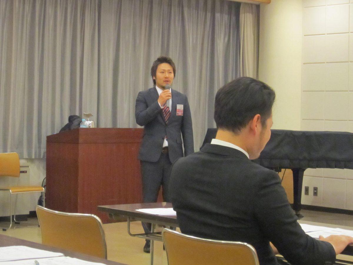 さて、フリータイムは丸山委員長のご挨拶や趣旨説明から始まりました。