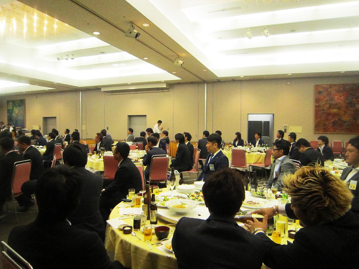 参加メンバーも、各青年会議所の理事長からの言葉を真剣に受け止める一幕もありました。