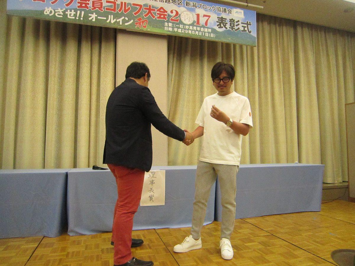 それぞれの青年会議所の理事長の皆さまが、賞品にかける思いをうかがうこともできました。