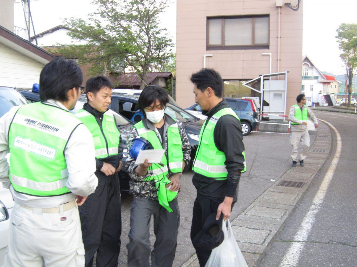 山川委員長「今日はこういう風に進めましょう」 横尾副委員長「うん、了解です!」