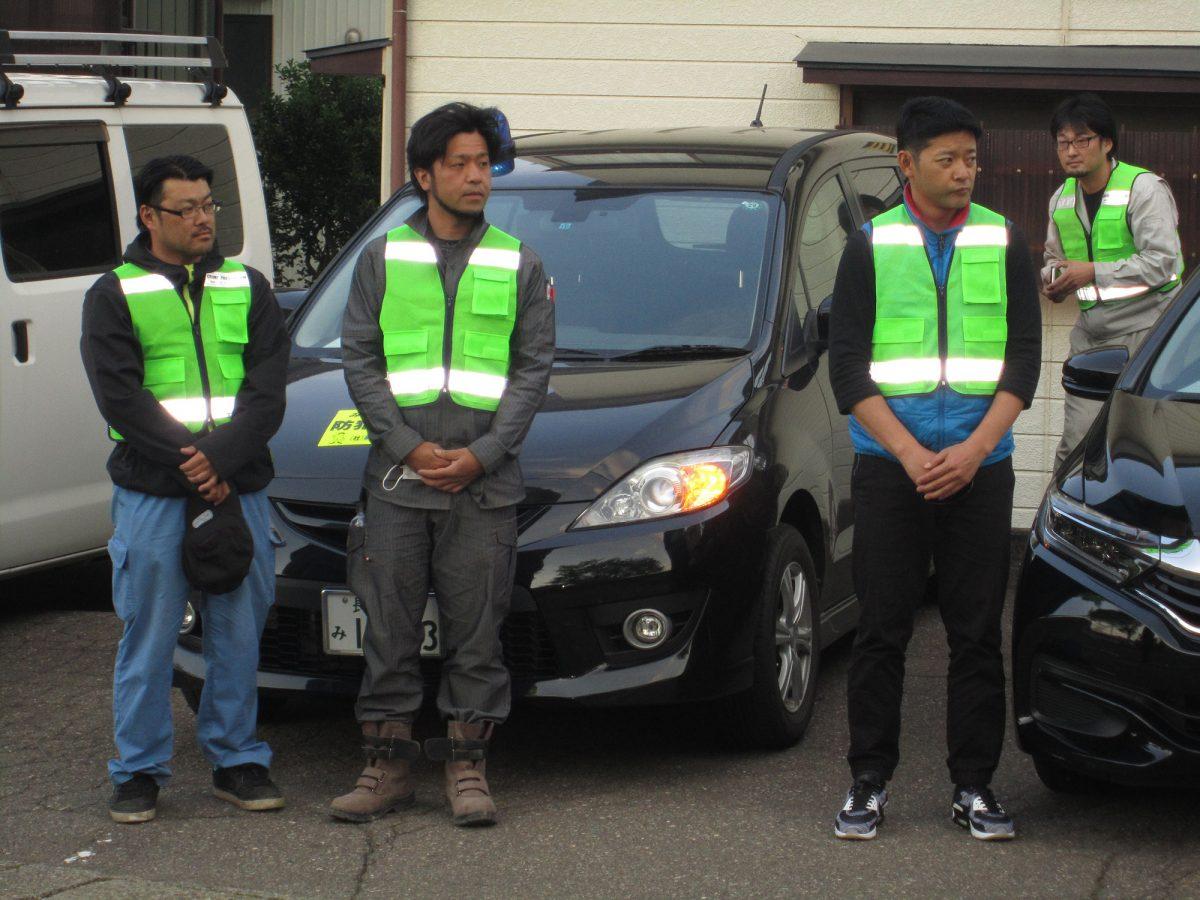 中田理事長からのお話にも真剣に聞き入る妙高青年会議所のメンバーたち。