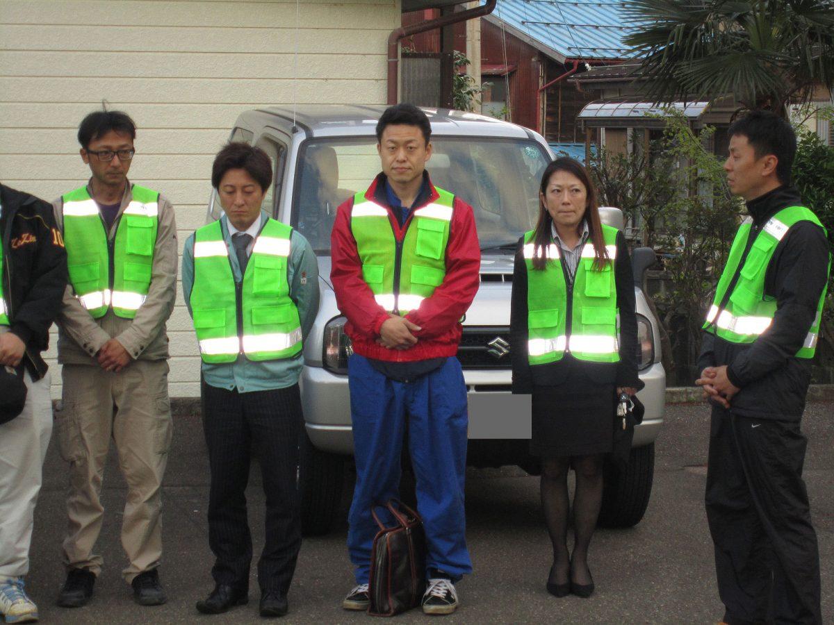 青色回転灯パトロールの事業がこの先も妙高地域の皆様のお役に立てれば光栄です。