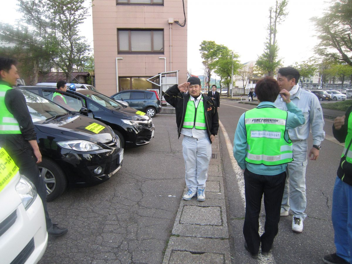 青少年育成委員会の太田副委員長も気合が入っています!