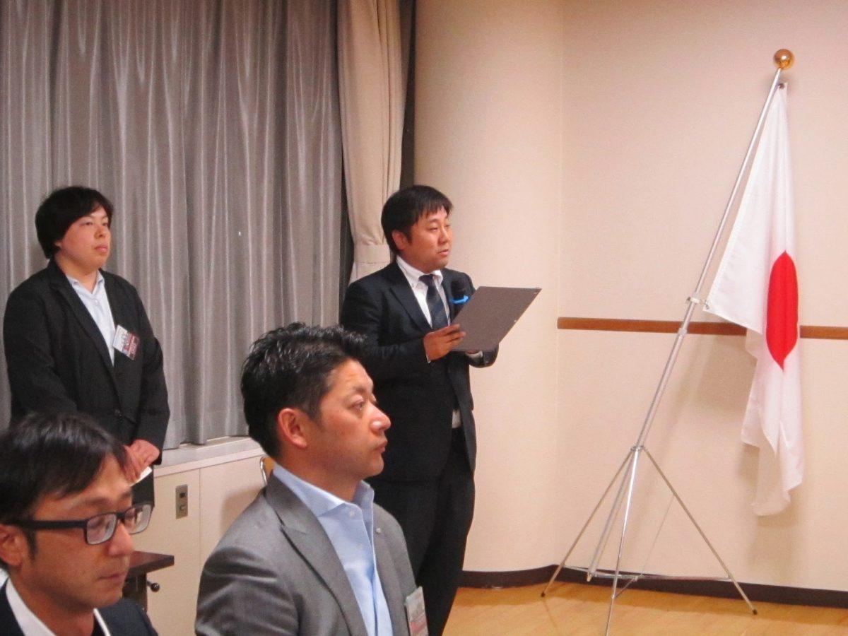講師の方をお招きしてのフリータイムです。進行を務めるのは、まちの力醸成委員会の西澤委員です。
