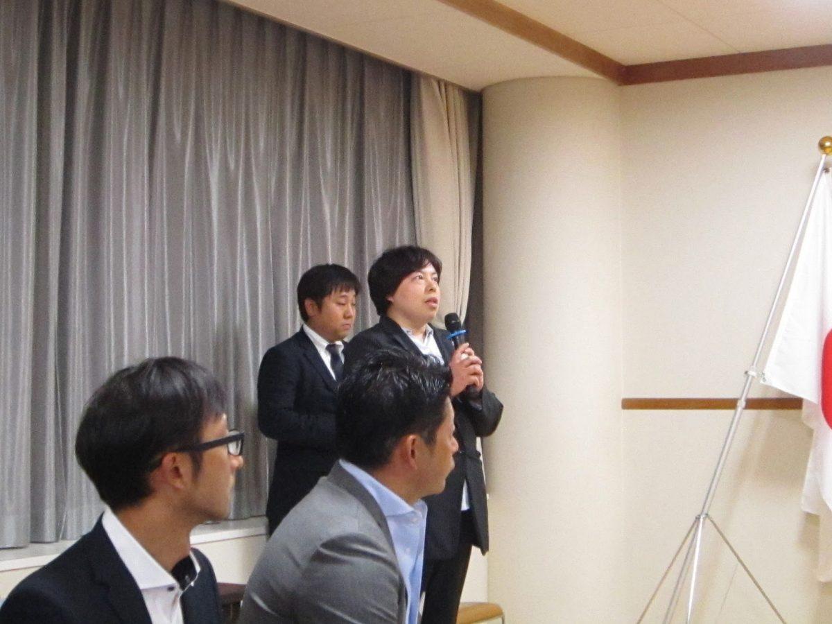 小林委員長より、今回のフリータイムの趣旨説明がありました。