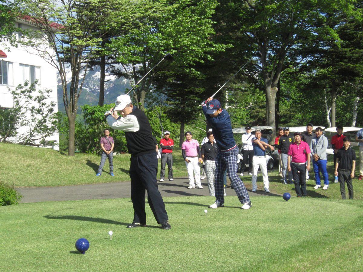 イメージ写真:妙高青年会議所・妙高JCシニアクラブ 交流ゴルフコンペが開催されました!