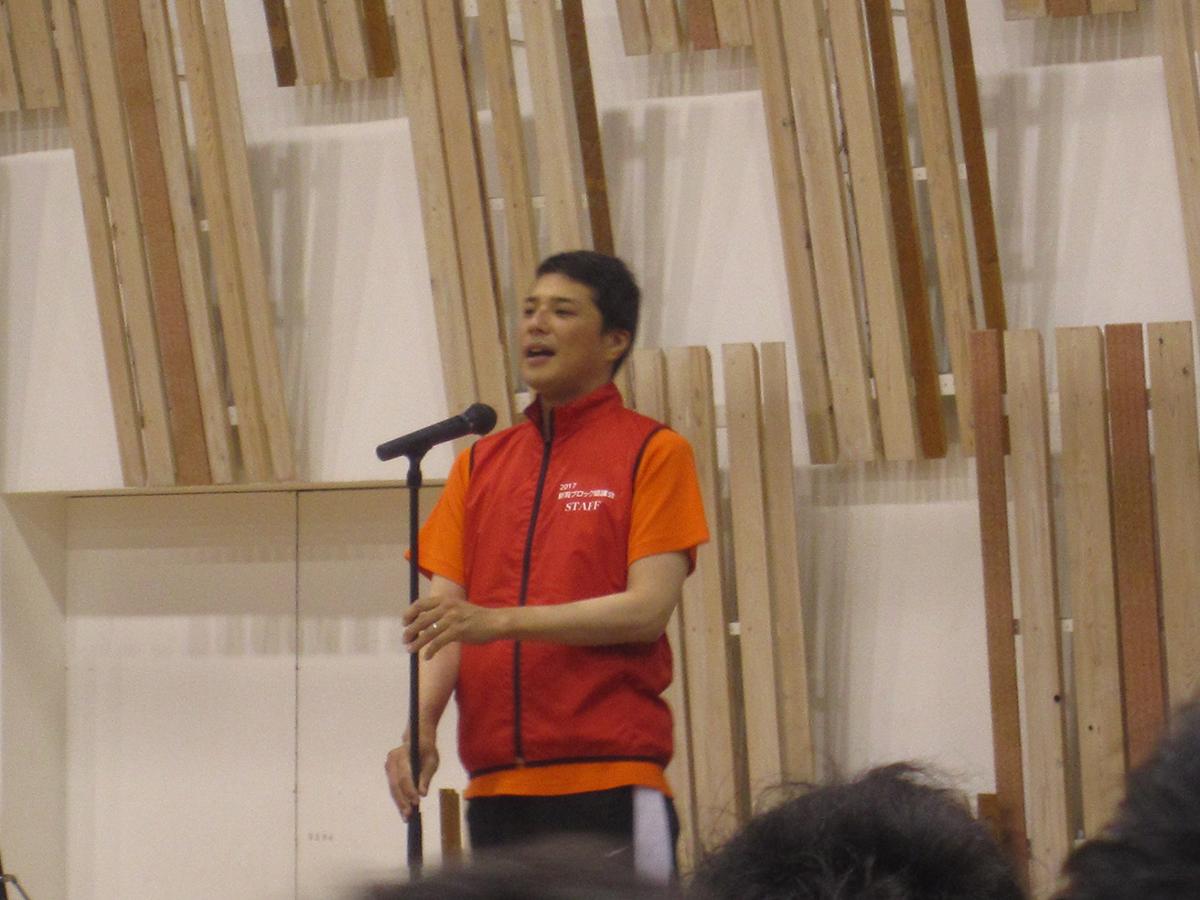 新潟ブロック協議会の石黒会長からのご挨拶です。