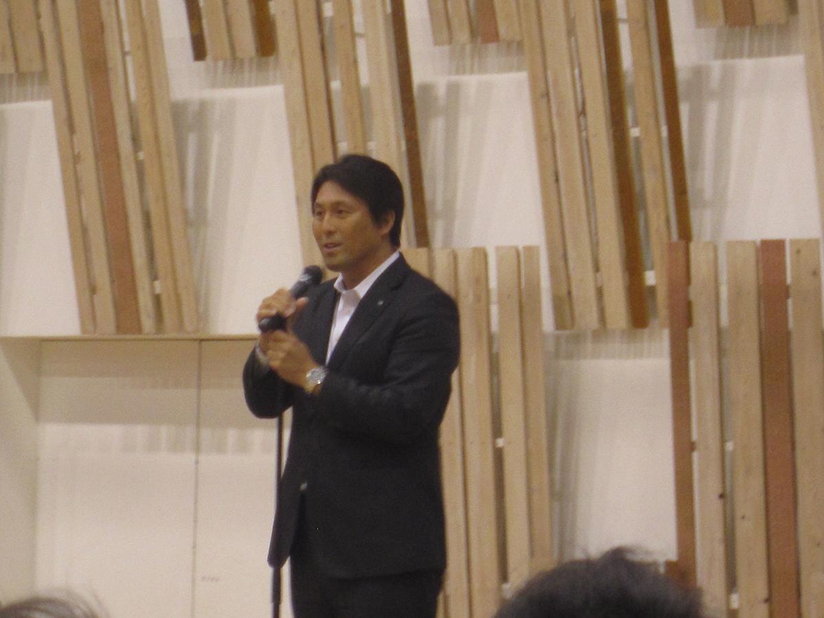続きまして、長岡青年会議所の大石理事長よりご挨拶がありました。