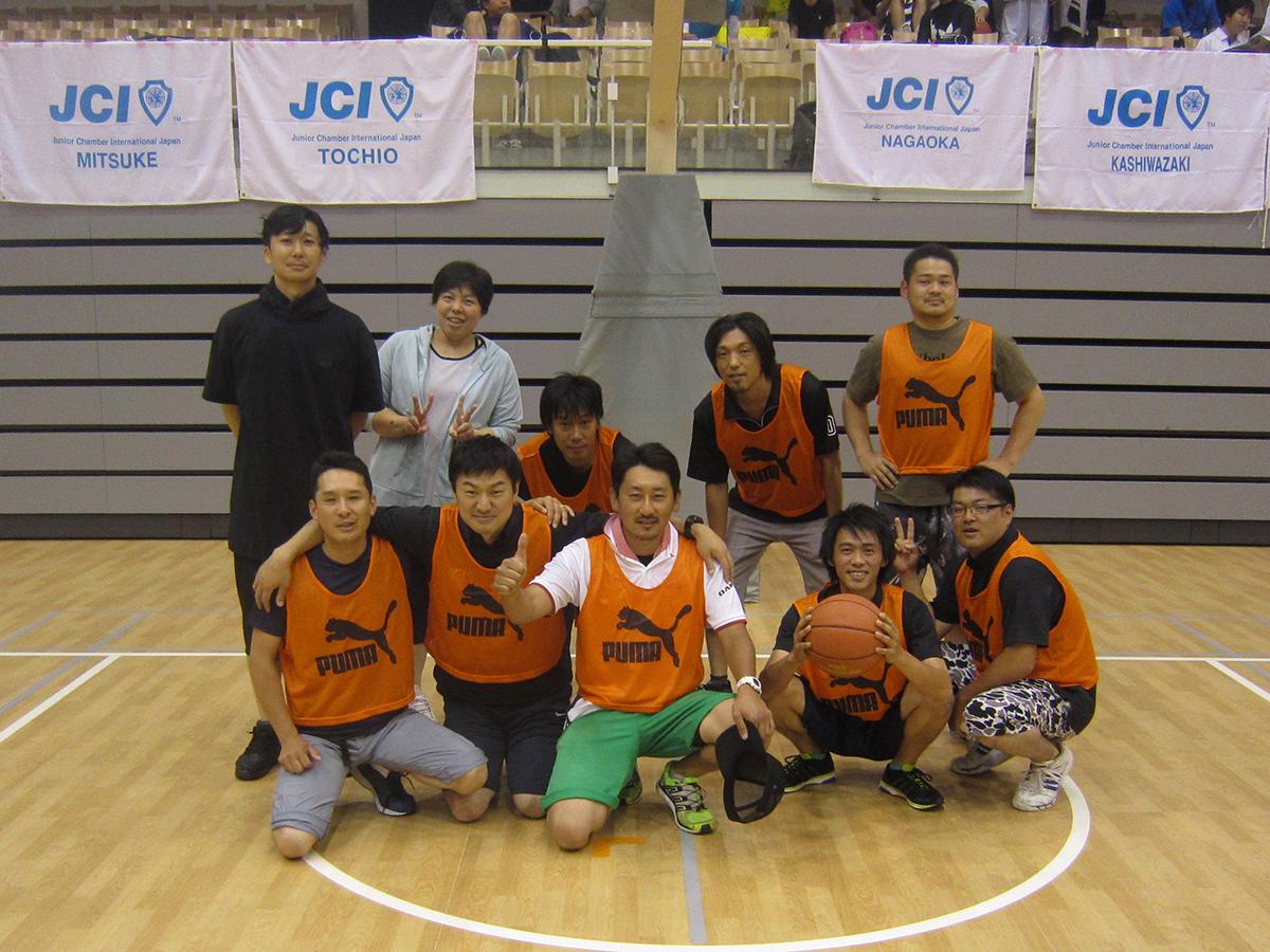 イメージ写真:「第1回 新潟ブロック協議会 ブロック会員交流バスケットボール大会」に参加してきました!