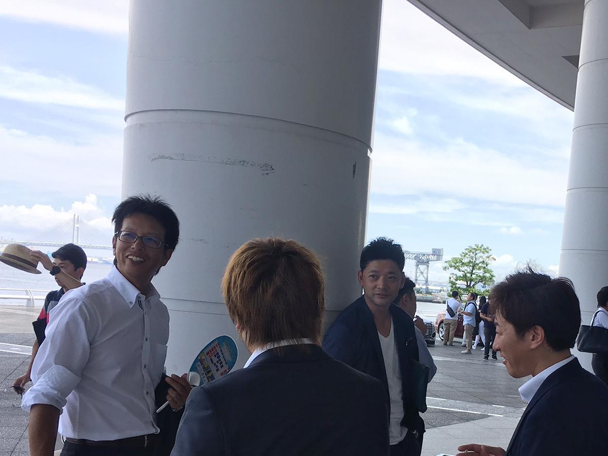 妙高JCのメンバーも無事に会場到着です。