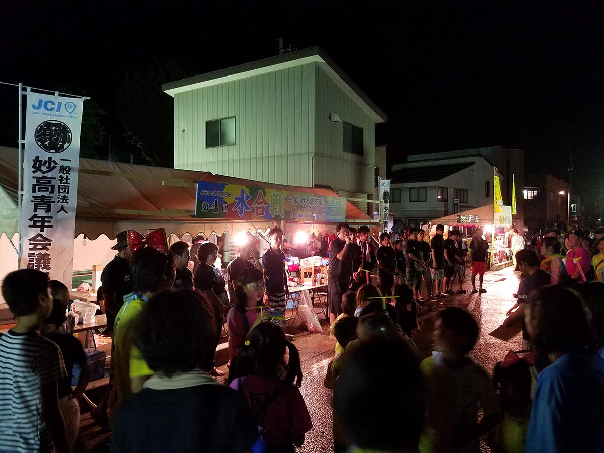イメージ写真:あらいまつり前日祭「第4回 水合戦」を開催いたしました!