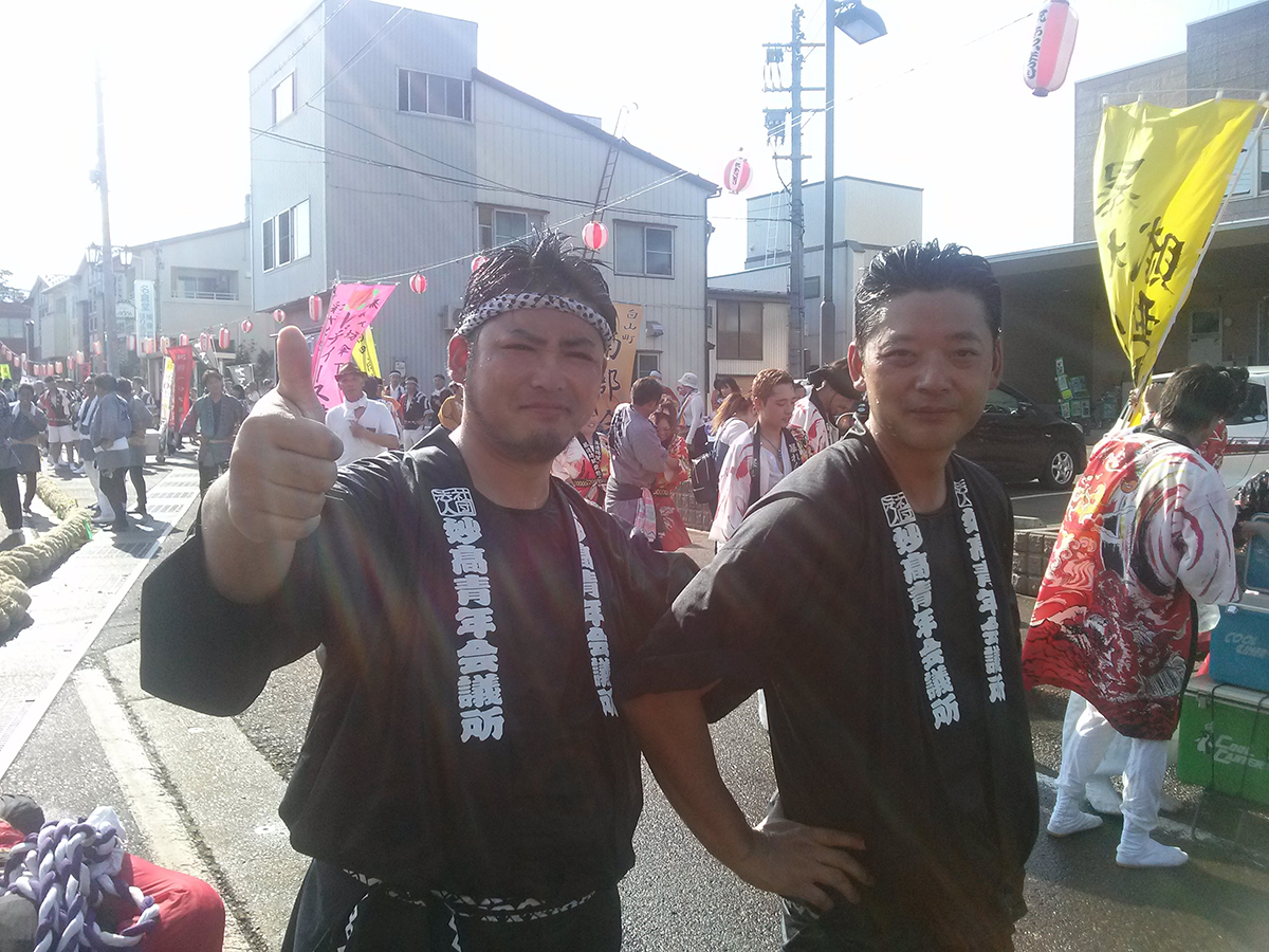 廣島副委員長(左)と、岡山直前理事長(右)です!
