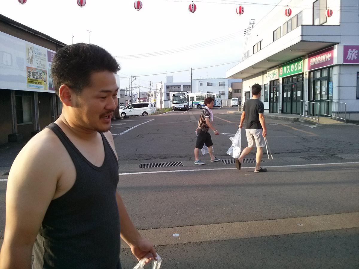 太田副委員長(左)も元気いっぱいです!