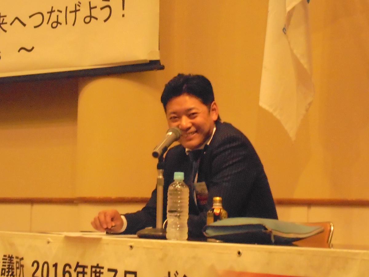 岡山直前理事長からは、今後の妙高青年会議所の事業について、また、結束の大切さについても説明がありました。