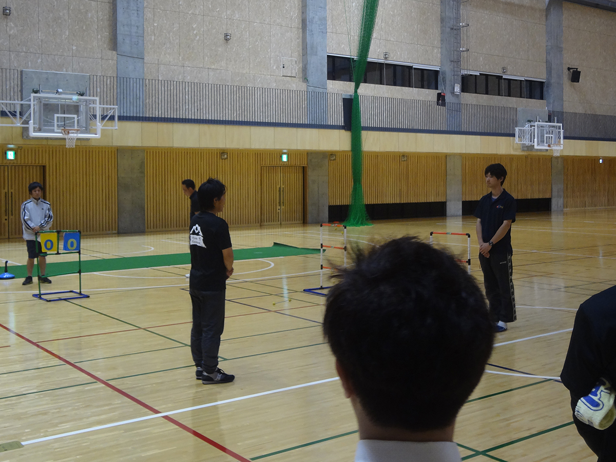 フリータイムの最後には、藤村副理事長より白石様への謝辞が述べられました。