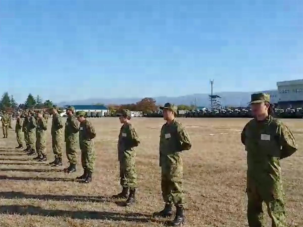 自衛隊1日体験入隊を行ってまいりました!