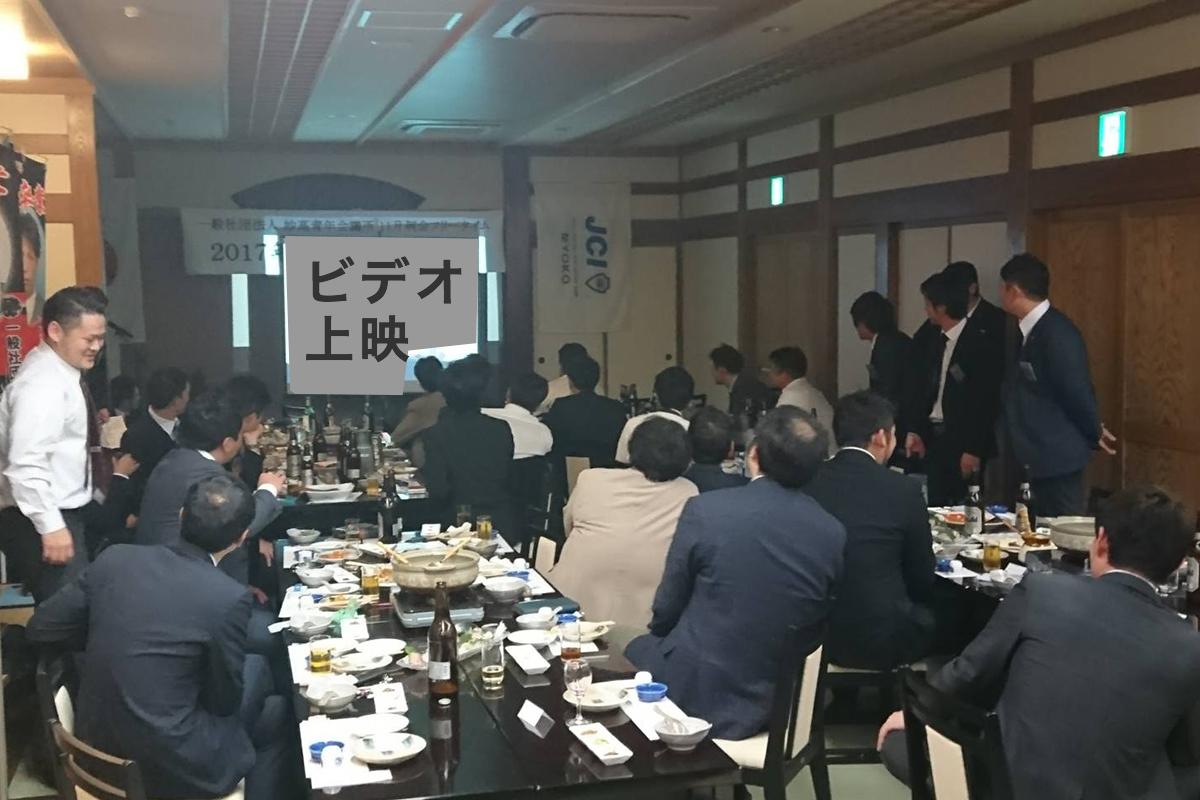 三役や、各委員会のメンバーによる卒業ビデオなどのイベントが行われました。