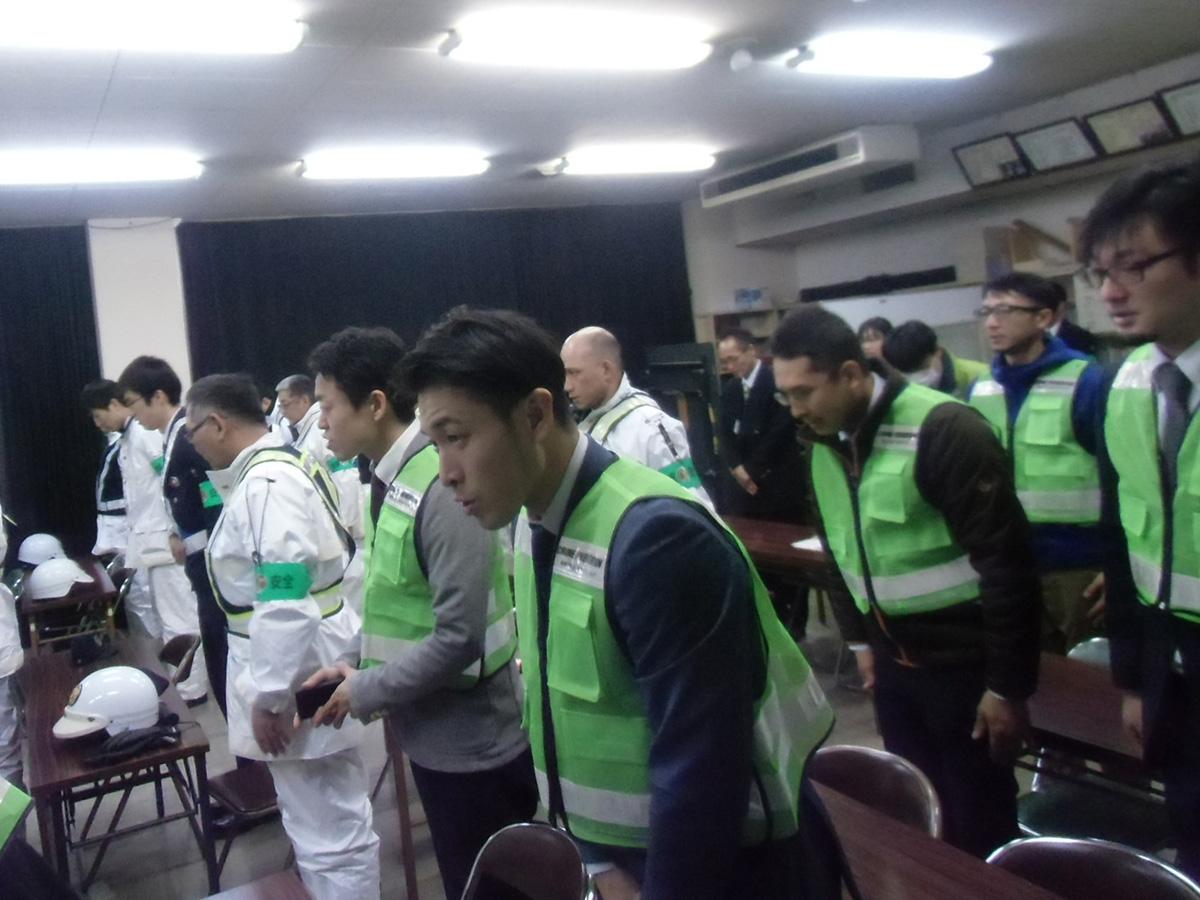 パトロール開始前、メンバーも妙高警察署様に集合してのスタートとなりました。