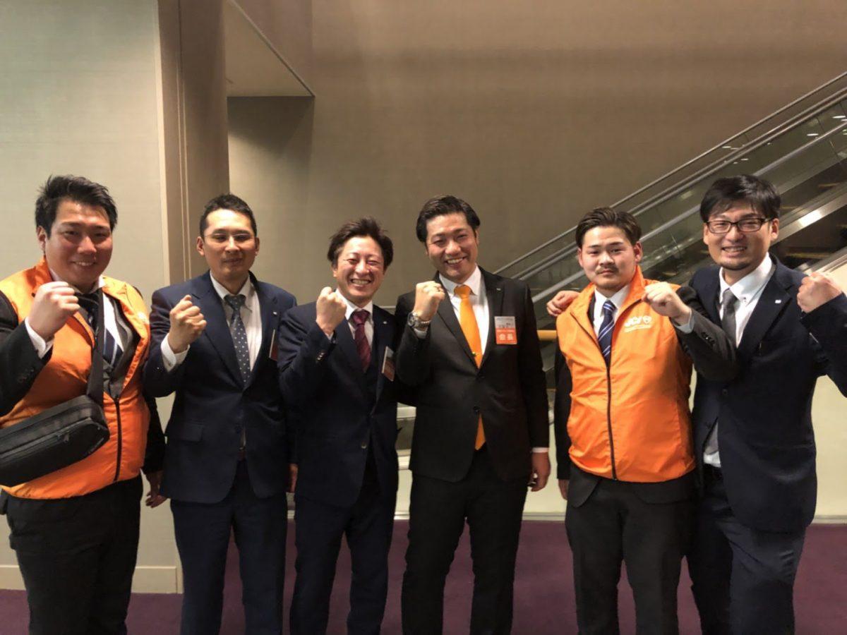 中島会長と記念撮影