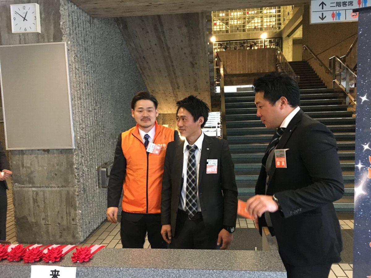 妙高JC出向メンバーも当日は会場設営、運営を頑張っておりました。