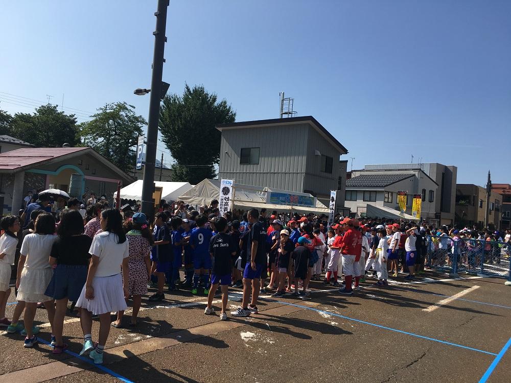 あらいまつり前日祭「第5回水合戦」を開催いたしました。