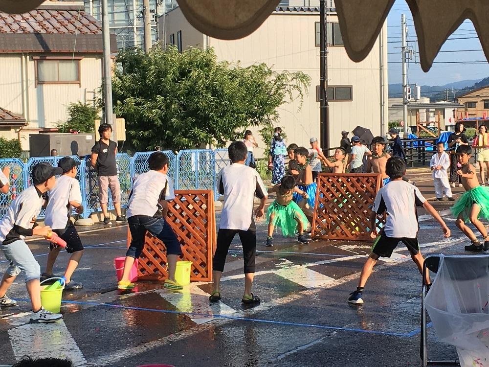 イメージ写真:あらいまつり前日祭「第5回水合戦」を開催いたしました。