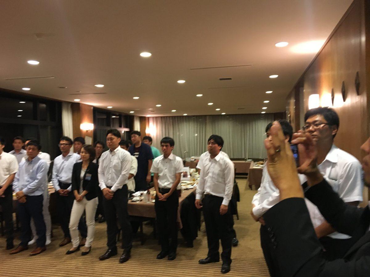 8月例会フリータイム「納涼会」が開催されました。