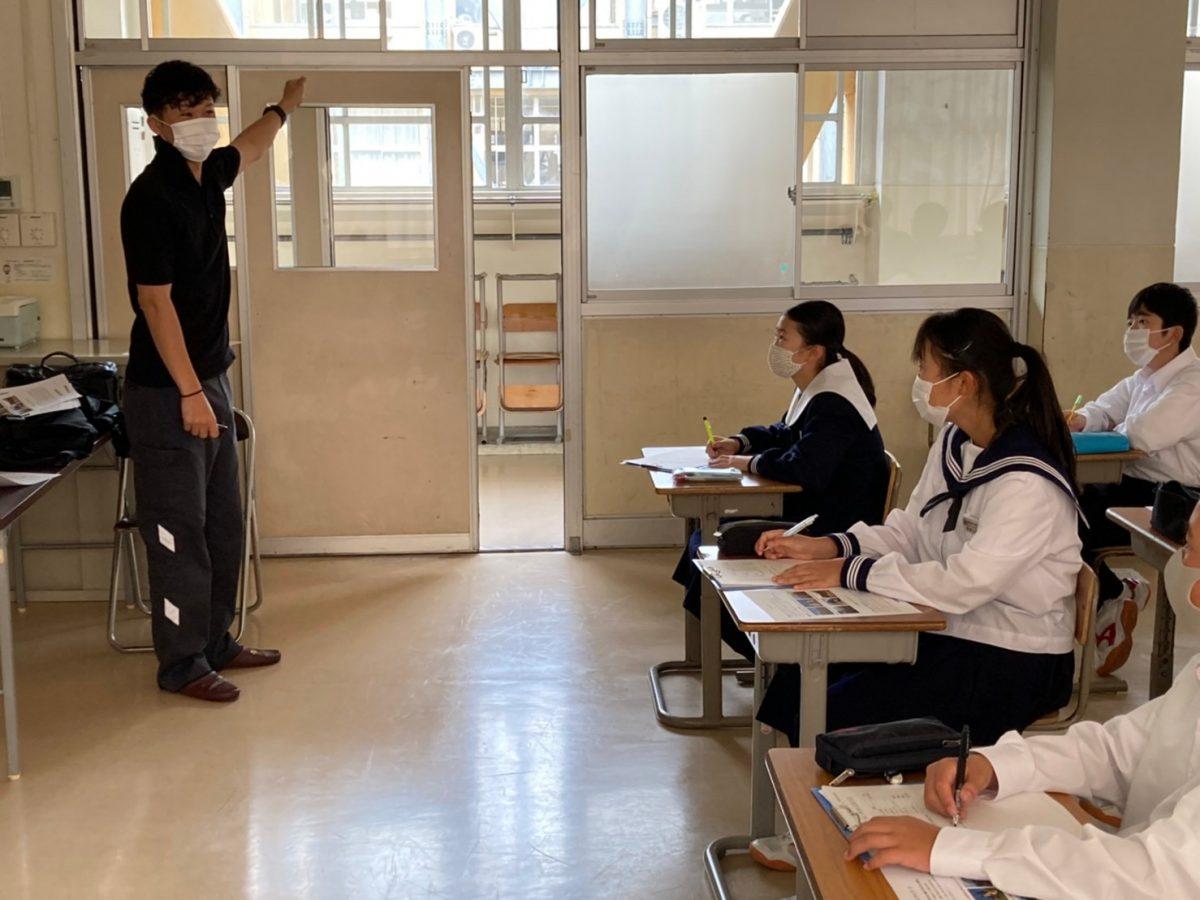 イメージ写真:新井中学校 地域の職業人に学ぶ会